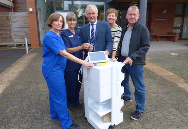 Money raised for town's Renal Unit