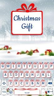 Christmas Gift Keyboard 2017 - náhled