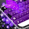 Flores de neón Keyboard icon