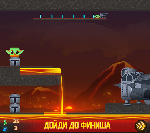 Square Baby Yoda: Cyber Casual Force Adventures apkmind screenshots 4