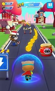 Talking Tom Hero Dash Run Game 1.5.0.833 MOD (Unlimited Money) 4