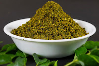 How to make Curry leaves Powder