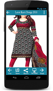 Latest Kurti Design 2016 screenshot 3