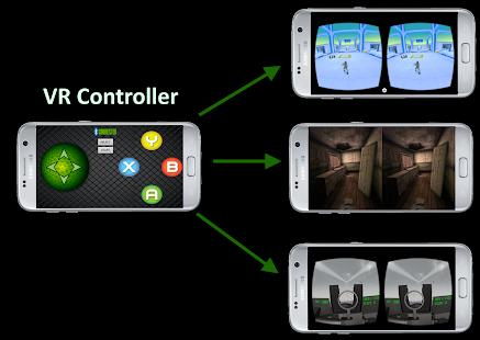 VR Controller - náhled
