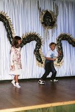 Photo: 1996 - Hotellin diskotanssikilpailu, jossa Jussin breakdance -esitys ylti voittoon (mansikkapirtelö!)