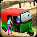 indian tuk tuk auto rickshaw 3d 2018 icon