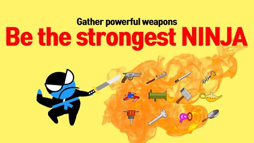 Jumping Ninja Battle - Two Player battle Action 3.95 screenshots 4