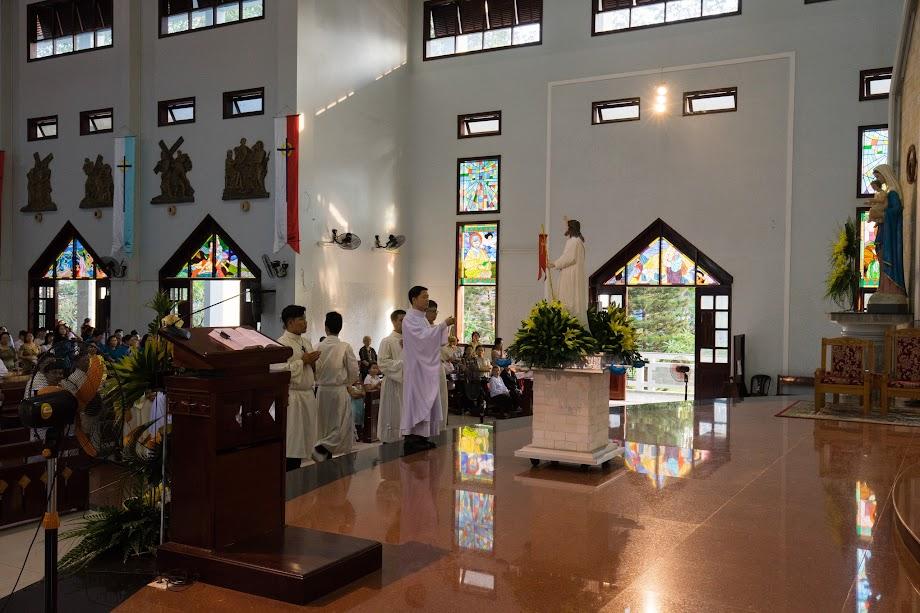 Giáo xứ Phú Bình : Rước Kiệu Phục sinh