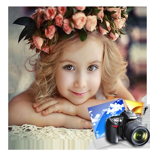Photo Effects flower Frames