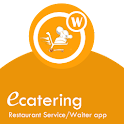 Waiter app or restaurant app icon