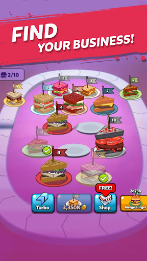 Merge Sandwich: Happy Club Sandwich Restaurant 1.0.94 screenshots 13