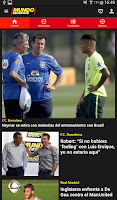 Screenshot of Mundo Deportivo Oficial