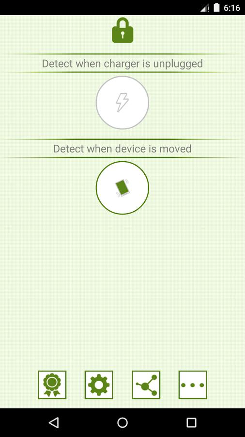 Anti-Theft Alarm PRO - screenshot