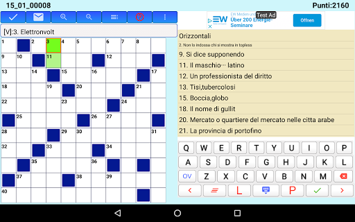 Best Italian Crossword Puzzles - Advanced Level 8.7 screenshots 13