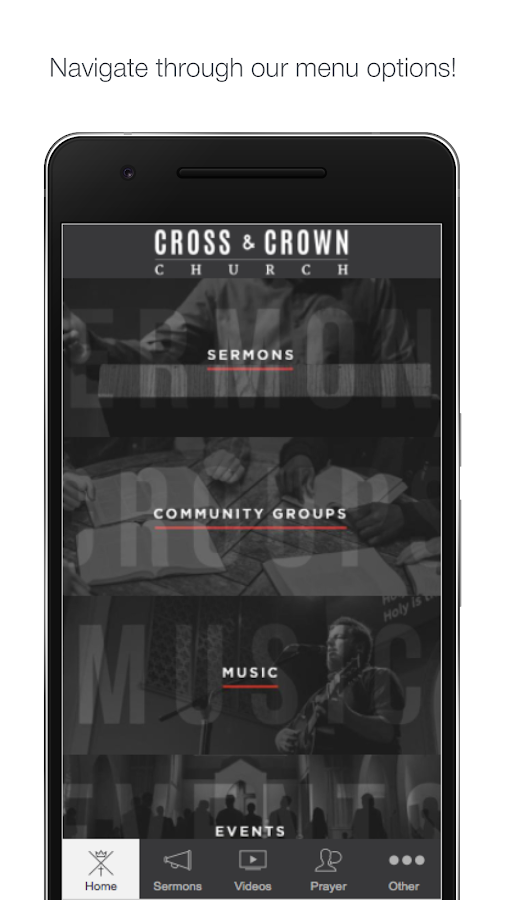 Cross & Crown Church- screenshot