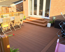 timber decking service in devon