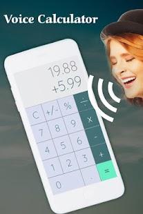 Voice Calculator - náhled
