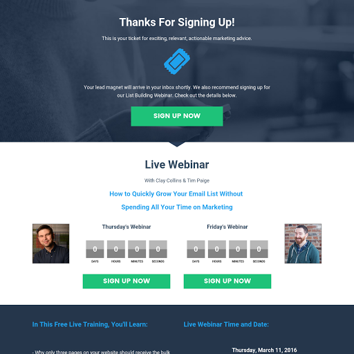 Webinar Registration Thank You Page 2.0