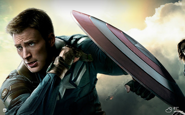Captain America HD Wallpapers New Tab Theme