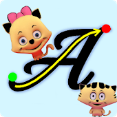 Write ABC - Cursive Alphabets