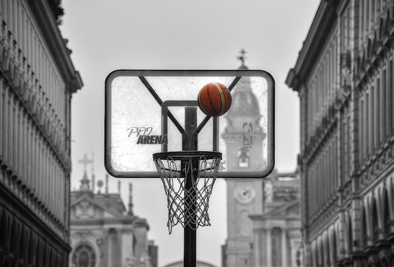 Street basket di Paolo Scabbia