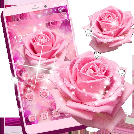 الوردي وردة الحب الرومانسية موضوع - التطبيقات على Google Play