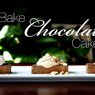 No Bake Chocolate Cake.