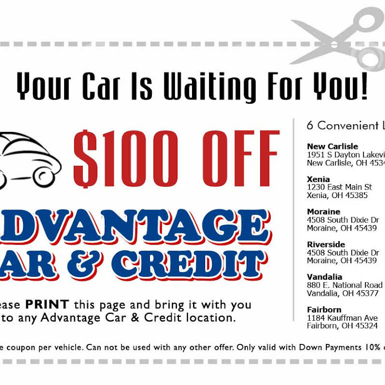 Advantage Car And Credit >> Advantage Car Credit Used Car Dealer In Fairborn