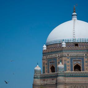 Shrine of Shah Rukan-e-Alam by Khawaja Hamza - Buildings & Architecture Public & Historical ( shah rukan-e-alam, multan, tomb, shrine )