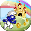 Super Smurf Run Adventures icon