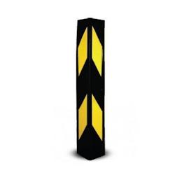 Protectie colt parcare, din spuma de cauciuc, 60 x 10 x 1 cm