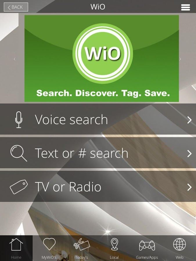 WiO- screenshot