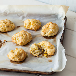 Sweet Corn, Cheddar, and Chive GougèRes Recipe