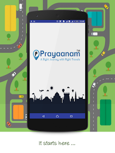 Prayaanam - Online Cab , Bus and Truck Booking - náhled