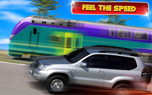 Train vs Prado Racing 3D  screenshots 7