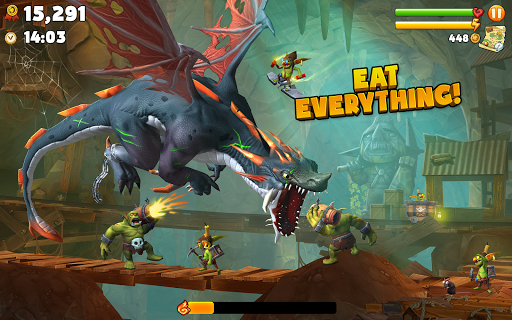 Hungry Dragon™ - screenshot