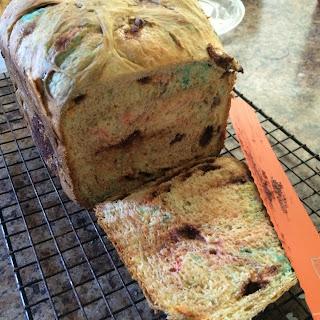 M&M Sweet Bread (Bread Maker(.