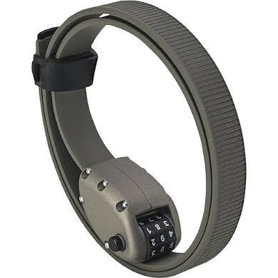 "Ottolock HEXBAND Cinch Lock: 30"", Titanium Gray"