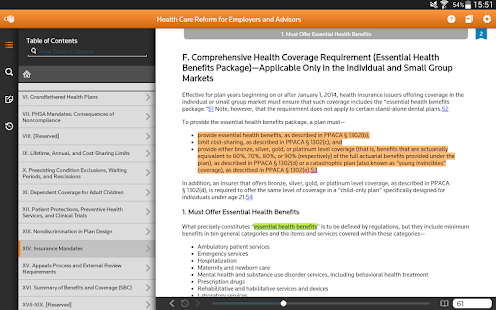 Thomson Reuters ProView- screenshot thumbnail