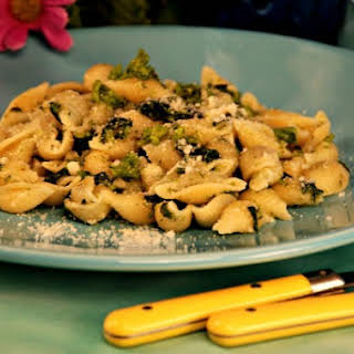 Mediterranean Pasta with Broccoli Rabe.