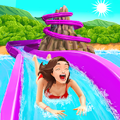 Uphill Rush Water Park Racing Icon