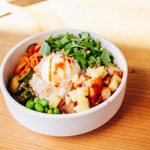 Tofu & Pea Shoots Bowl