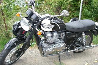 Photo: Looks like Jeff's bike...in Chianti