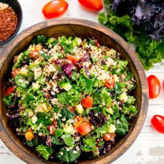 Kale Quinoa Salad.