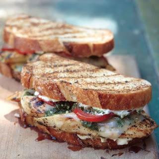 Pesto Chicken Sandwiches Recipe