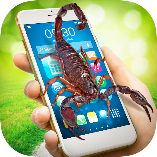 Scorpion in Phone Prank Icon