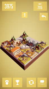 History 2048 - 3D puzzle game- screenshot thumbnail