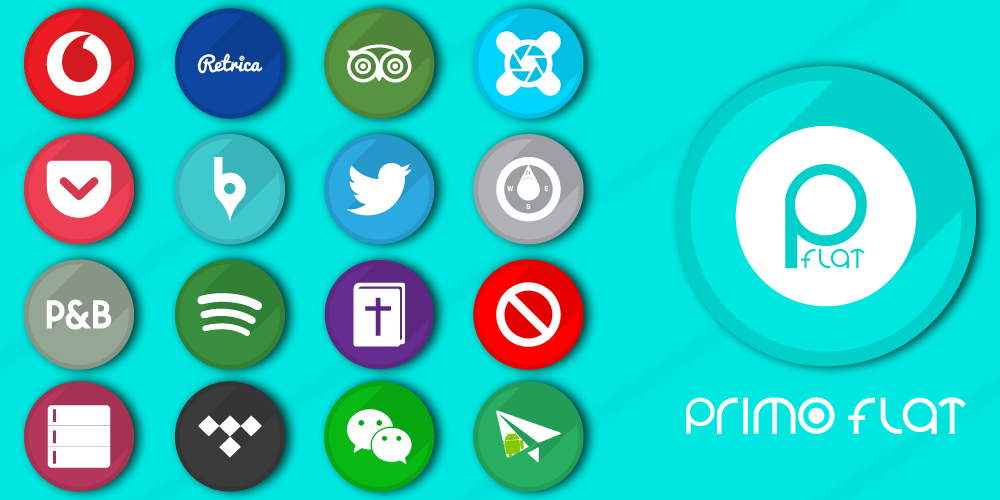 Primo Flat - Icon Pack - screenshot