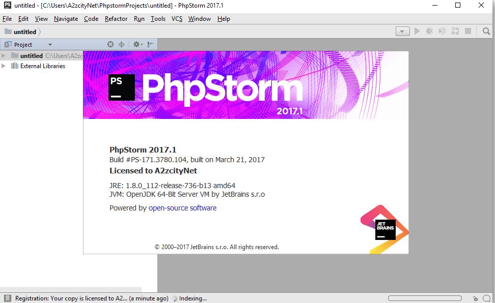 Phần mềm lập trình web JetBrains PhpStorm 2017