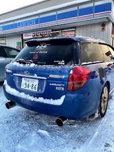 レガシィツーリングワゴン BP5 WR  Limited2004年のカスタム事例画像 maasun(Team's Lowgun北海道)さんの2018年12月08日10:41の投稿